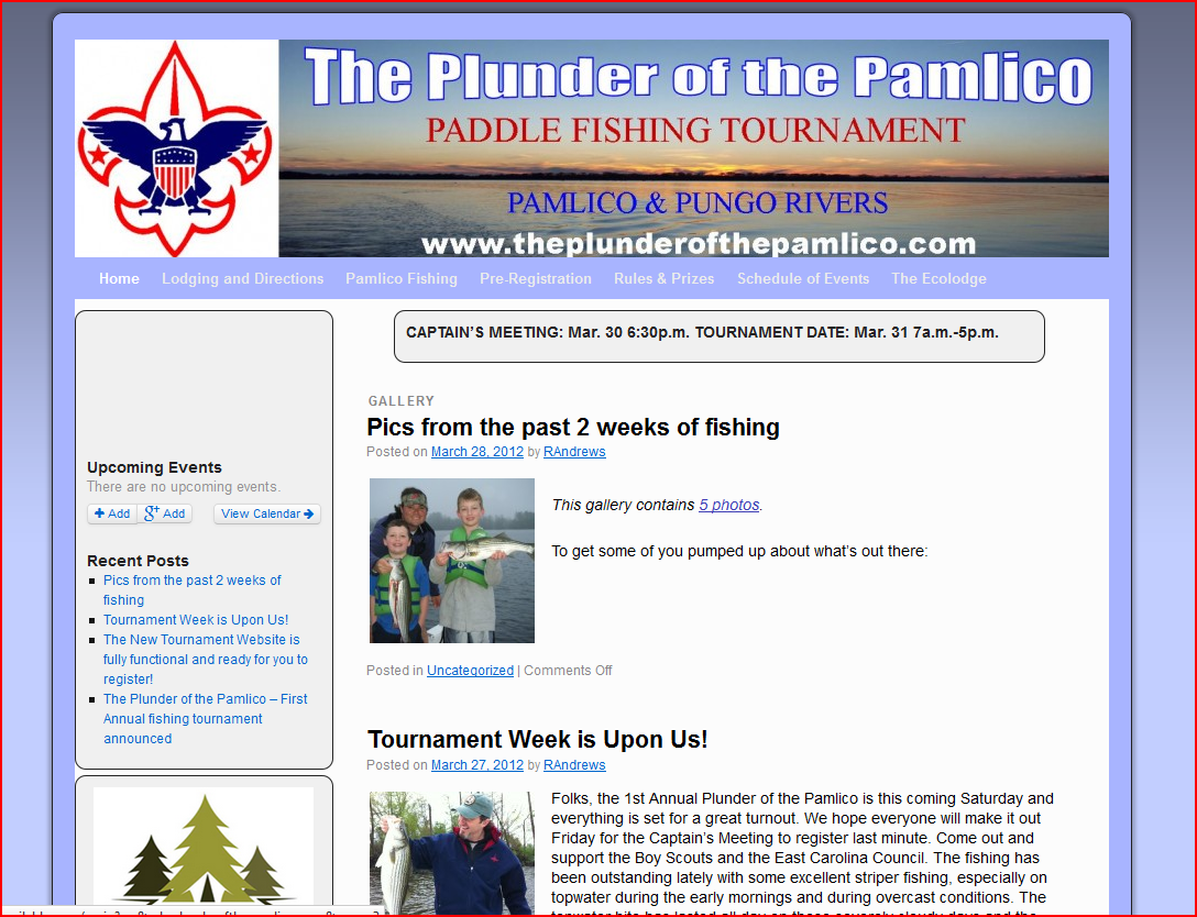 Plunder of the Pamlico
